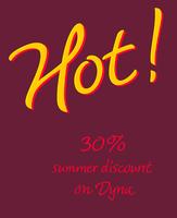 Dyna summer sale & Dyna CE
